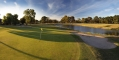 5th green and fairway dam