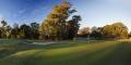 Brisbane Golf Club – 18th green sunrise