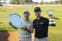 Minjee Lee and Matt Griffin Vic Open winners 2014