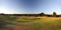 16th hole green and bunkers