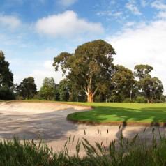 Commonwealth Golf Club 18th green